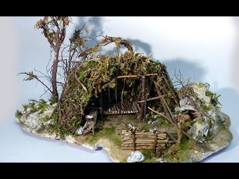 Survival Diorama für Waldfuchs | Build a Shelter Diorama