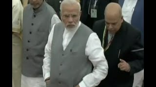 PM Narendra Modi reaches Delhi's IAR Institute too address 'Krishi Unnati Mela' - ABPNEWSTV