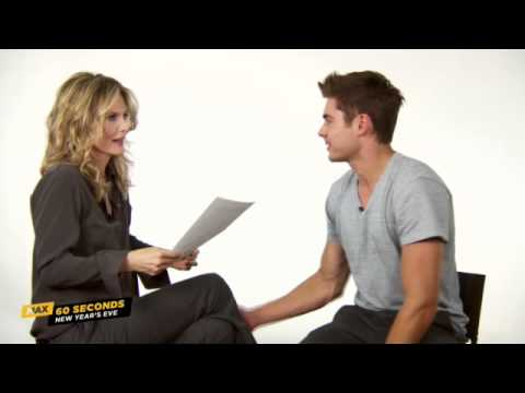 Max 60 Seconds with Zac Efron (New Years Eve)