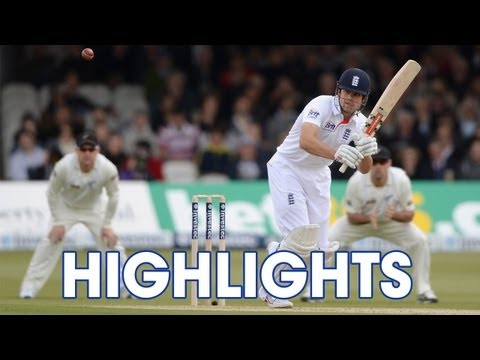 Highlights England v New Zealand - Day 1 Morning Session at Lord's
