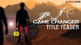 The Game Changer | Telugu Short Film | Title Teaser | A Film by Srinuvasu | Butterfly - YOUTUBE