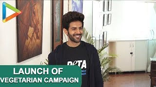 FULL: Kartik Aaryan launches newest Vegetarian Campaign in support of Peta - HUNGAMA