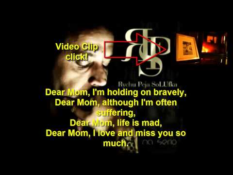 Peja (RPS) - Kochana Mamo (Dear Mom) Lyrics [ENG]
