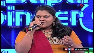 Super Singer 8 Episode 15 - Vaishnavi Performance - MAAMUSIC