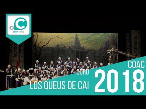 Sesión de Preliminares, la agrupación Los queus de Cai actúa hoy en la modalidad de Coros.