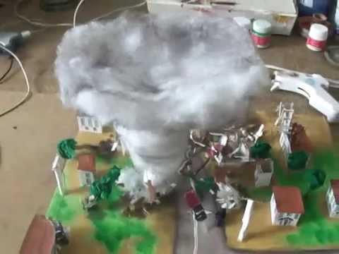 Maqueta Tornado
