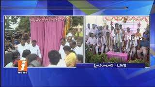 Minister KTR Speech after Lays Foundation Stone For Double Bedrooms at Gandimaisamma Area   iNews - INEWS