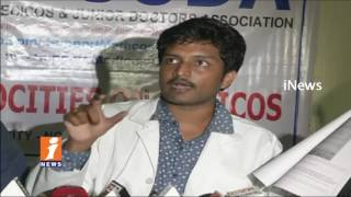 PG Medical Students Comments On AP Govt In Vijayawada Over GO 99 Issues | iNews - INEWS