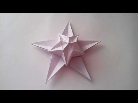 Звезда смерти из бумаги