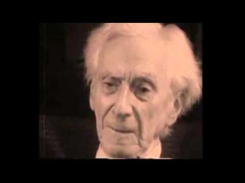 Bertrand Russel Gives A Message To The Future