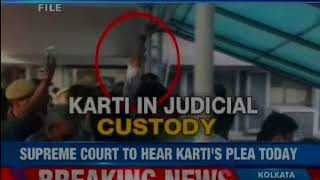 INX Media Case: SC to hear Karti Chidambaram's plea on Tuesday - NEWSXLIVE