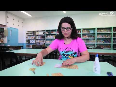 Aprenda a fazer um quebra-cabeça de palito de sorvete