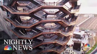 New York Debuts Massive Art Park, New Neighborhood | NBC Nightly News - NBCNEWS