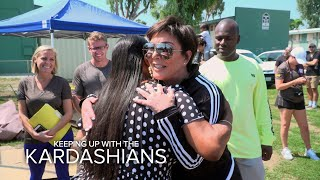KUWTK | Kris Jenner Helps to Restore Watts Community Center | E! - EENTERTAINMENT
