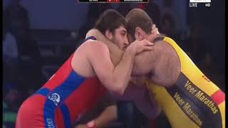 PWL 3 Day 11: Levan Berianidze VS Jamaladdin Magomedev at Pro Wrestling League 2018 | Full Match - NEWSXLIVE