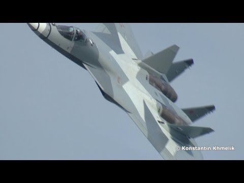 Сухой Т-50 ПАК ФА 100 лет ВВС России Sukhoi T-50 PAK FA 100 years of Russian Air Force