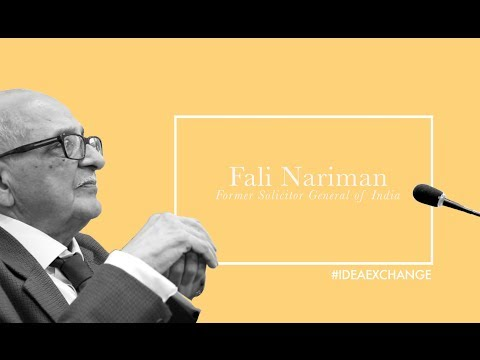 We have become a laughing stock of the world: Fali Nariman on India's foreign policy