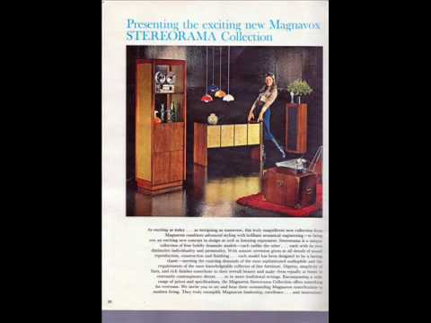 1972 Magnavox console stereo sales booklet pictures.