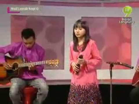 Tahajjud Cinta - Irish Idola Kecil (Cover) - from TV9 NL Kopi O