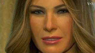 Madame Tussauds Reveals its Melania Trump Wax Figure - VOAVIDEO