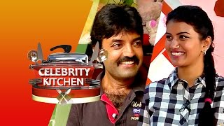 Actress Sri Devi & Actor Lakshmiraj in Celebrity Kitchen 26-04-2015 – PuthuYugam TV Show