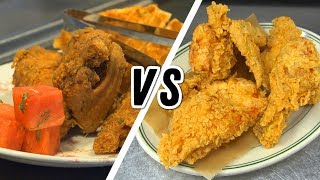 Joe's Stone Crab's Fried Chicken vs. Yardbird | High Brow vs. Low Brow - FOODNETWORKTV