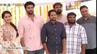 Varun Tej & Raashi Khanna - Venky Atluri film launch - idlebrain.com - IDLEBRAINLIVE