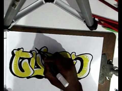 Vídeo Aula com Gene do Grafite 064 - Bomber Graffiti, ou Bomb Spray