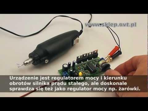 AVT1469 - GENERATOR PWM - REGULATOR MOCY SILNIKA DC