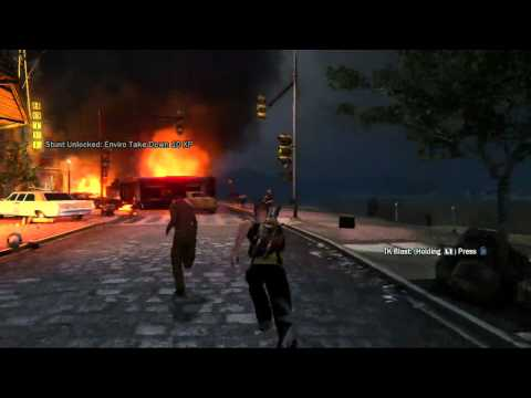 inFamous 2  vídeo con gameplay
