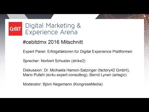 """#cebitdmx: Expert-Panel """"Lead Nurturing in der Praxis"""""""
