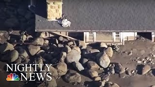 California mudslides: Death toll increases | NBC Nightly News - NBCNEWS