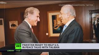 Pakistan agrees to US request for Taliban talks assistance despite financial aid spat - RUSSIATODAY