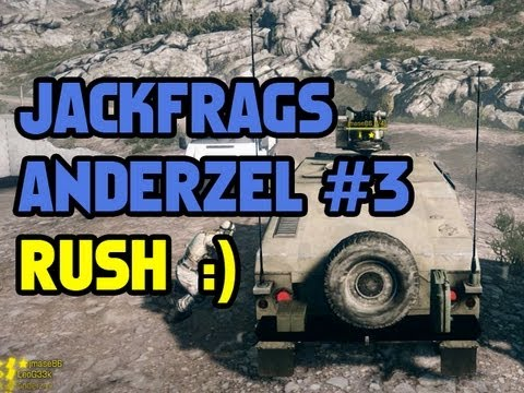JackFrags + AnderzEL = Win? Episode Three Rush - Battlefield 3 Online Gameplay 1080p