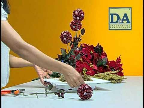 D&A - Curso de Arranjo de Mesa Bico de Papagaio