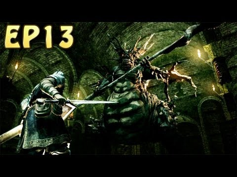 Dark Souls Walkthrough - Stray Demon, Catacombs & Pinwheel (EP13)
