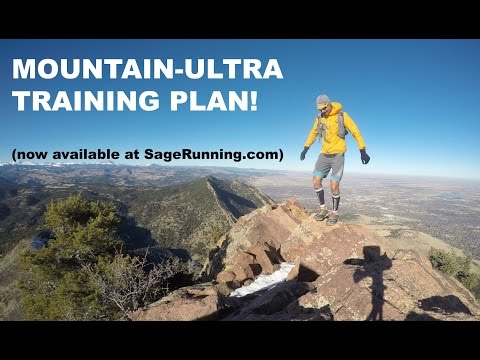 THE SAGE RUNNING MOUNTAIN-ULTRA TRAINING PLAN!