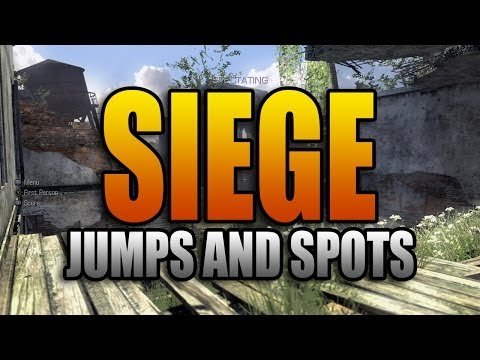 Ghosts Jumps and Spots - Siege (Call of Duty: Ghost Secret Jump Spots Episode 6)