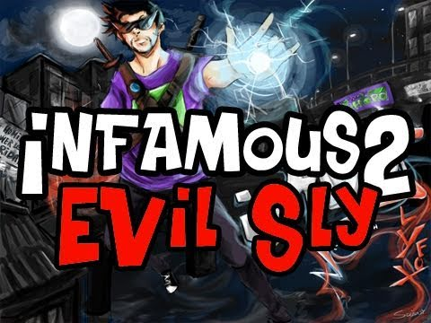 Infamous 2: Evil Sly Playthrough Ep.4 &quot;Dont mess That song Drummer Boy&quot;