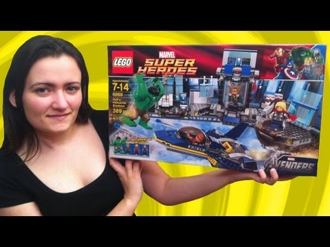 LEGO 6868 Hulk's Helicarrier Breakout LEGO Marvel Avengers Super Heroes Review
