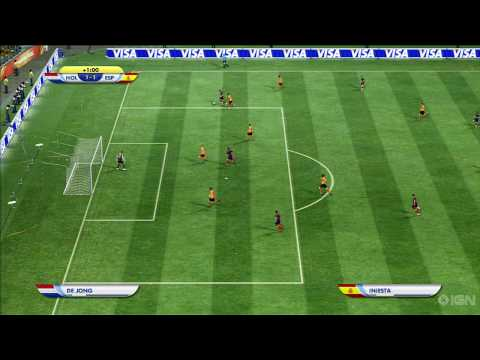 VM 2010 finalen nederland vs spania sim