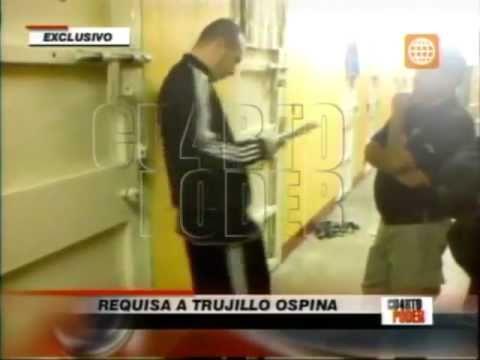 Requisan la celda de Trujillo Ospina en el Penal de Piedras Gordas - 06/2011