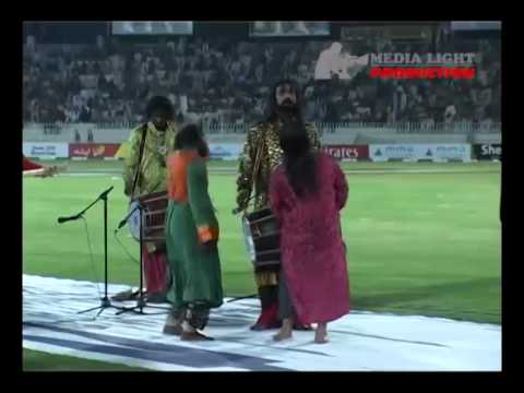 Gunga Sayin Performing live at Rawalpindi Cricket Stadium concert