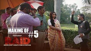 Making of Raid #5 - Fun On Sets | Ajay Devgn | Ileana D'Cruz - TSERIES