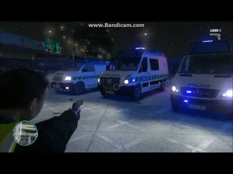 British Police Van pack