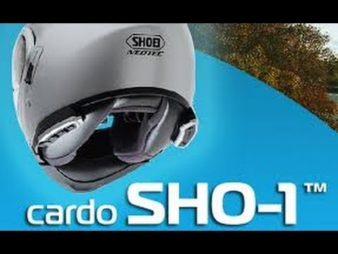 Cardo SHO-1 Unboxing and Install Video