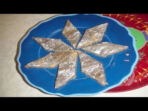Quick Kaju Katli or Kaju Katri (Cashew fudge)