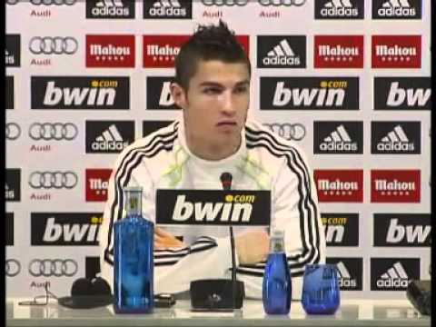 Cristiano Ronaldo Press Conference (English Subtitles) 27/11/2010