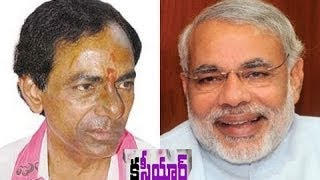 TRS chief KCR  Strong reply to Modi - TV5NEWSCHANNEL