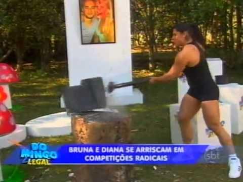Domingo Legal - Bruna e Diana participam de aventura em Goiás